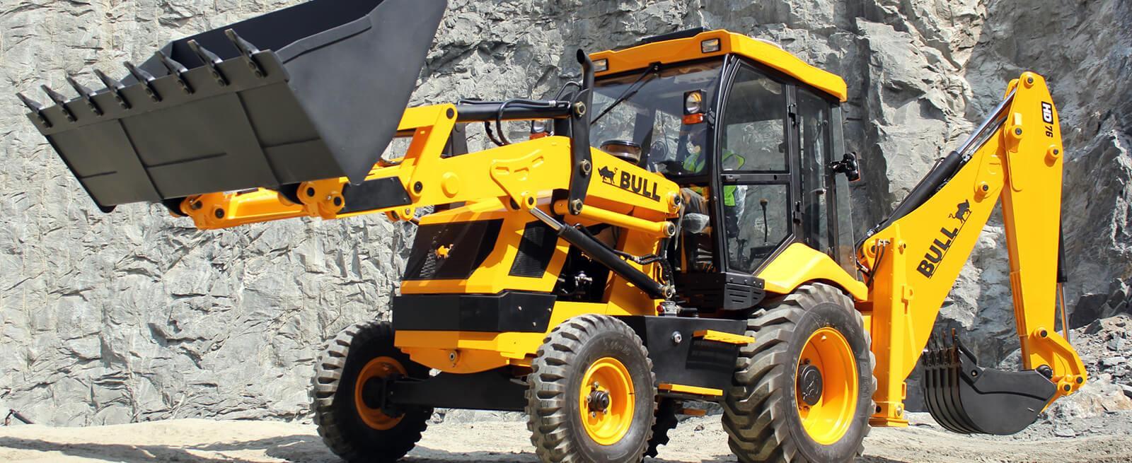 Bull HD 76 2WD | Construction Equipment | Backhoe Loader | Bull Machines