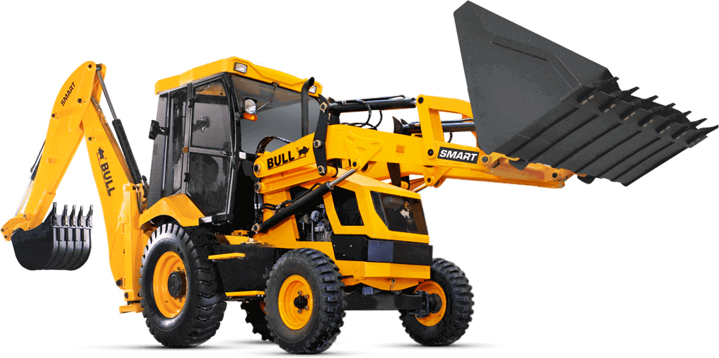 BULL Construction Equipment - Backhoe Loader Manufacturers India