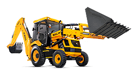 Bull HP 60 Smart Backhoe Loader