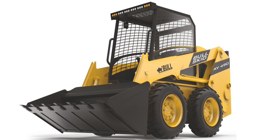 macchine operatrici bull Skidsteer-overview