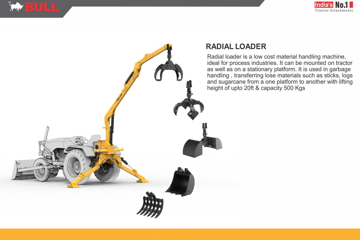 Bull Loader Radial For John Deere Mahindra Wiring Diagram Car Lift Further Lawn Mower Warning Light Prevnext