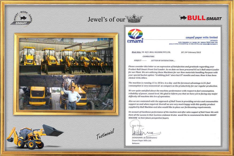 BULL Construction Equipment - Bull Smart 60 BHL - Backhoe Loader