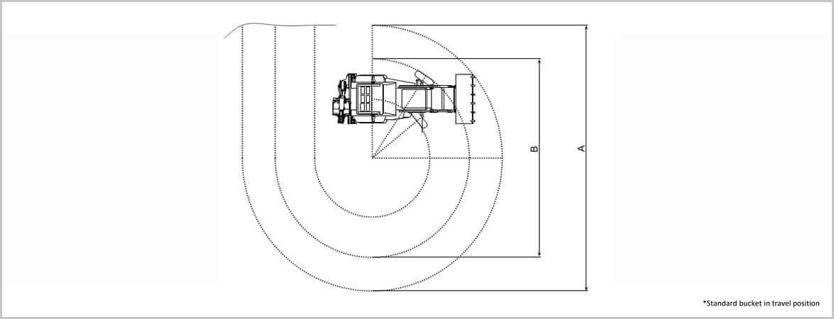 school bus turning radius template choice image